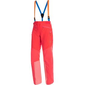 Mammut Nordwand Pro HS Pantaloni Donna, rosso